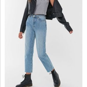 BDG urban outfitters slim straight jeans